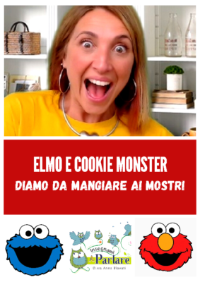 elmo e cookiemonster